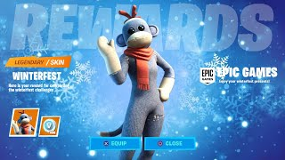 ALL WINTERFEST REWARDS (14 DAYS OF CHRISTMAS CHALLENGES) FORTNITE MISSION REWARDS LEAKED!