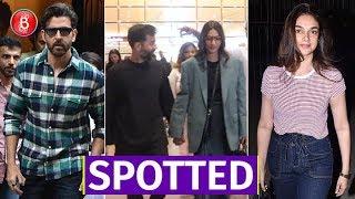 Spotted: Hrithik Roshan Sonam Kapoor & Aditi Rao Hydari