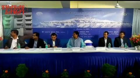 पर्यावरण सह राज्य के पीएचई मंत्री अध्यापक सौमेन महापात्र ने गुरुवार को सिलीगुड़ी के परिवहन नगर में परिवेश भवन का उद्घाटन किया।
