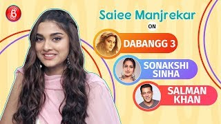 Saiee Manjrekar's Honest Confession on working in Salman Khan's Dabangg 3