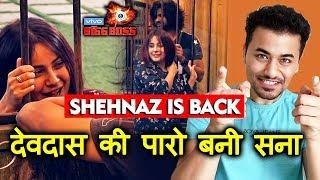 Bigg Boss 13 | Shehnaz Gill FUNNY ROMANCE With Vishal Aditya Singh | DEVDAS-PARO Act | BB 13