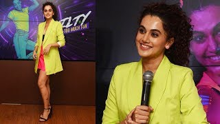 Interview With Taapsee Pannu For | Mirchi Neon Run A Fun Run