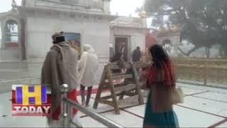 14 DEC N 10 विश्व बिख्यात शक्ति पीठ नैना देवी में जमकर  मेघ बरसे