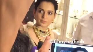 Kangana Ranut ANGRY REACTION ON KARNI SENA | I will not Apologies to Karni Sena
