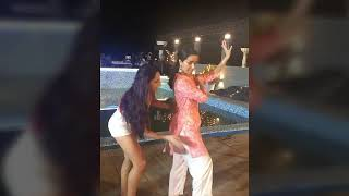Nora Fatehi having some fun time with her upcoming movie costars Varun Dhawan and Shraddha Kapoor
