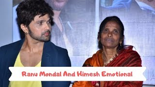 Ranu Mondal with Himesh Reshmiya Emotional at their song launch