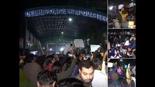 CAA protests: Traffic around ITO blocked