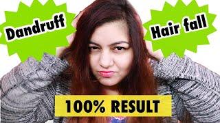 Hair Mask for Dandruff & Hair Fall | Dandruff Treatment at Home | JSuper Kaur