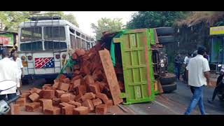 PASSENGER BUS & TRUCK ACCIDENT AT KUNDAIM