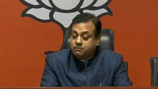 Joint Press Conference by Shri Sambit Patra and Shri Dushyant Gautam