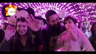 Ayra Yash Birthday Official Video | Radhika Pandit | Rocking Star Yash | Top Kannada Tv