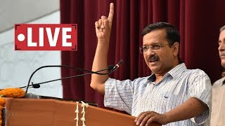 Delhi CM Arvind Kejriwal insugurates new fresh water line for Delhi Cantonment Area