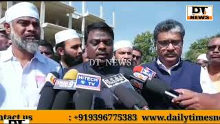 Muslims Man Forced By Local Hindus | Not to Build House At Vanasthalipuram| What's Happening In Hyd?