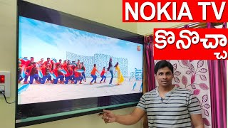 Nokia 55 Inch Ultra HD TV 4K Unboxing and Review Pros and cons telugu