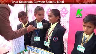 True Education Glowing School Modi l 1st Science Work Shop l k haryana l