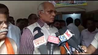 सिंचाई मंत्री ने किया बाढ़ से सम्बन्धित परियोजनाओं का औचक निरीक्षण