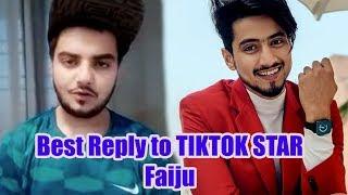 Best reply to so called Tiktok star Mr Faisu on Tabrej Ansari Controversy by Jaaneman