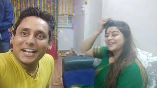 देखिये मुम्बई में Anara Gupta के घर गणपती बप्पा की पूजा  HD VIDEO
