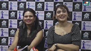 Jinnie Jazz Exclusive Interview as Chief Guest of MRS and MISS INDIA