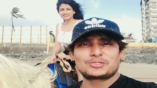 सूंदर लड़की की घोड़े की सवारी II Beautyful Girl On Horse II Ashi Tiwari