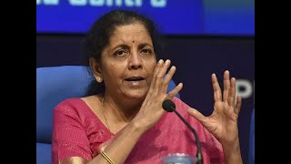 FM Nirmala Sitharaman at IEC: Making all efforts to be on track for 5 trillion economy