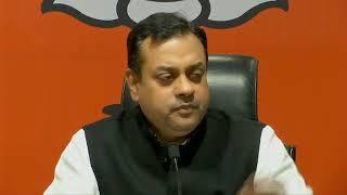 Press Conference by Dr. Sambit Patra at BJP Head office, New Delhi
