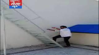 પૂર્વ સંસદીય સચિવ હીરાભાઈ સોલંકીએ સોમનાથની હોટલમાં લાગેલ આગ બુજાવી
