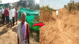 These Poor Farmers Are Refrained From Using The Traditional Access Road
