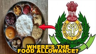 Food allowance plays hide & seek with cops