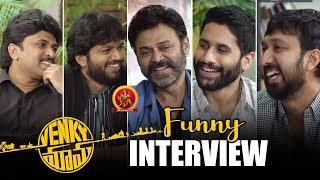 Venky Mama Team Funny Interview With Anil Ravipudi & Shiva Nirvana || Bhavani HD Movies
