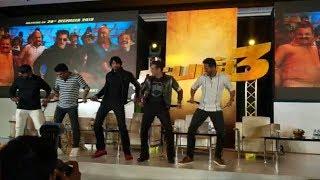Dabangg 3 Chennai Promotion | Salman Khan And Kichha Sudeep Shake Legs On MUNNA BADNAAM