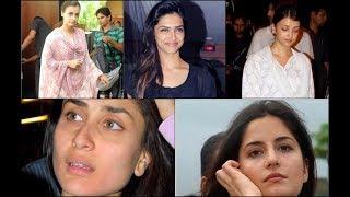 बॉलीवुड एक्ट्रेस की बिना मेकअप की तस्वीरें , देख कर डर मत जाना | Bollywood Actress Without Makeup