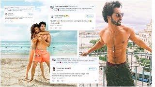 Varun Dhawan Gets Trolled For Wearing Cheap Underwear Judwaa-2 !!!