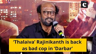'Thalaiva' Rajinikanth is back as bad cop in 'Darbar'