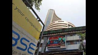 Sensex rises 100 points, Nifty nears 12,100; DHFL gains 5%