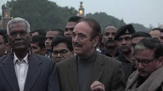 Ghulam Nabi Azad Addresses Media After Meeting President Ram Nath Kovind on CAA