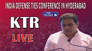 Minister KTR Live | US India Defense Ties Conference | KTR Minister Live | Top Telugu TV