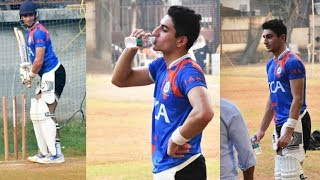 Ibrahim Ali Khan Spotted Playing Cricket At JUHU