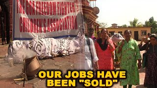 """Our Jobs Have Been """"SOLD"""": Children Of Freedom Fighters On Govt Jobs"""