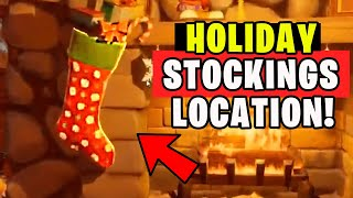 SEARCH HODLIDAY STOCKINGS IN THE WINTERFEST CABIN - WINTERFEST CHALLENGES FORTNITE
