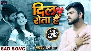 2020 का सबसे दर्द भरा #VIDEO_SONG - दिल रोता है - Harsh Jha | Dil Rota Hai | Hindi Sad Songs