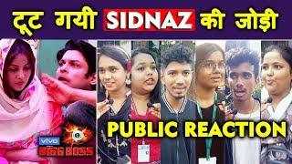 Bigg Boss 13 | Shehnaz DITCHES Siddharth Shukla | Sidnaz | Public Reaction
