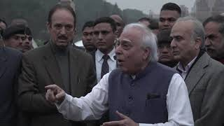 Kapil Sibal Addresses Media After Meeting President Ram Nath Kovind on CAA