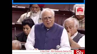 CAB is Divisive and Exclusive: Kapil Sibal in Rajya Sabha