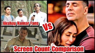 Dabangg 3 Vs Good Newwz Screen Count Comparison Reaction By Akshay Kumar Fans