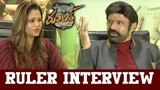 Nandamuri Balakrishna Exclusive Interview || Ruler Movie || Bhavani HD Movies