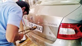 HSRP Imbroglio: How Cops Will Trace Stolen Cars? Ask Painters Association