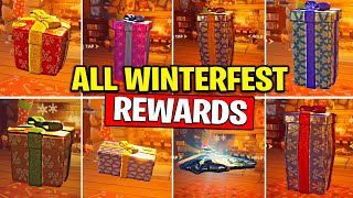 ALL WINTERFEST PRESENTS OPENED (ALL DAYS PRESENTS) DAY 1 to DAY 14