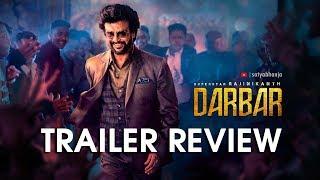 "Super Star Rajinikanth's ""Darbar"" Movie Trailer Review   A.R.Murugadoss   Anirudh R   Subaskaran"