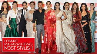 Lokmat Most Stylish Awards 2019 | Deepika Padukone Ajay Devgn, Kriti Sanon, Yami